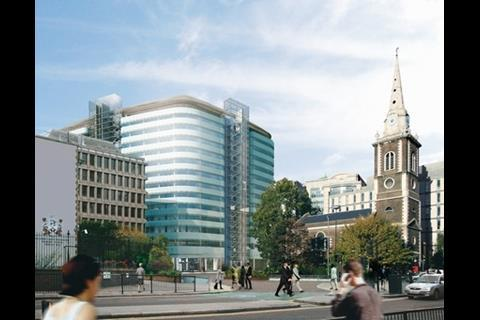 Minerva's St Botolphs development in the City of London (being done by Skanska)